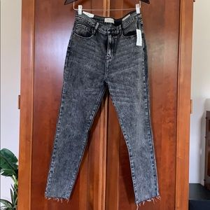 NWT PacSun Vintage Icon Distressed Black Jeans
